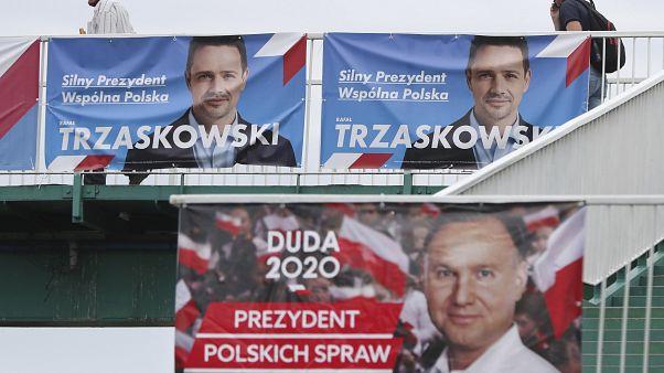 Президентские кампании Дуды и Тшасковского в Польше