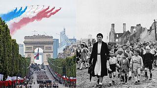 День взятия Бастилии в 2019 и 1944 гг.