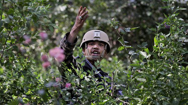 Afgan gizli servisine (NDS) bağlı bir asker