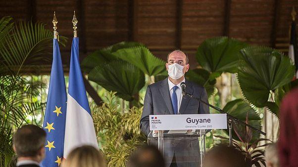 ژان کاستکس، نخست وزیر فرانسه در سفر گویان