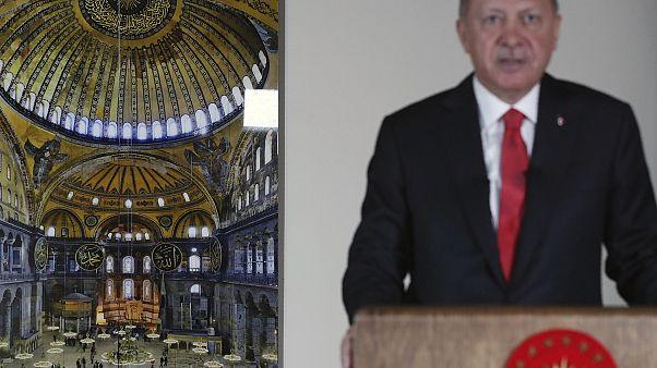 Πούτιν - Ερντογάν: Συνομίλησαν και για την Αγία Σοφία