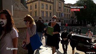 Covid-19: Familiares de vítimas apresentam queixas em Bérgamo