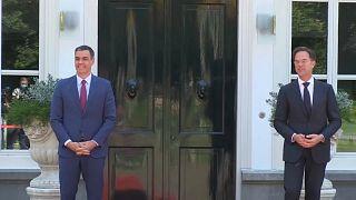 """Rutte reclama a Sánchez """"reformas económicas"""" en España"""