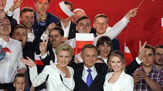 """Andrzej Duda ist """"Staatsoberhaupt eines zunehmend gespaltenen Landes"""""""