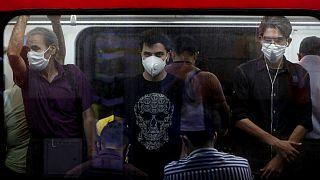 شیوع کرونا در تهران