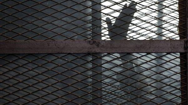سجن طره في جنوب القاهرة- مصر.