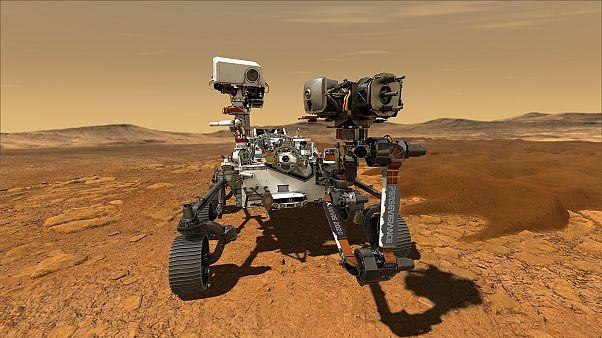 مریخنورد ناسا در جستجوی نشانههای حیات روی سیاره سرخ