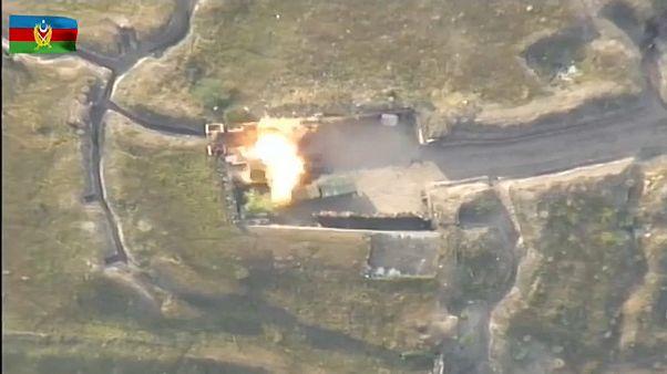 Ermenistan Azerbaycan sınırında çatışma