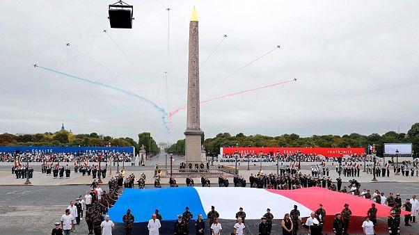 برگزاری جشنهای روز ملی فرانسه با تقدیر از قهرمانان مبارزه با کرونا
