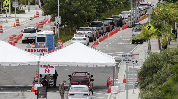 Florida se convierte en el nuevo epicentro de la pandemia en Estados Unidos