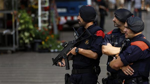 Duo arrested on suspicion of planning explosives attack in Barcelona