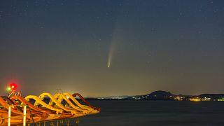 آخرین خودنماییهای دنبالهدار «نئووایز» پیش از غیبت ۷ هزار ساله