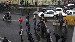 Proteste gegen Benzinpreise in Iran Ende 2019