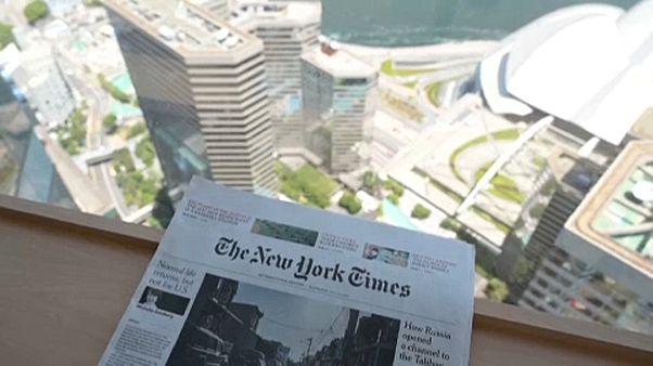 Hongkongból Szöulba költözik a The New York Times