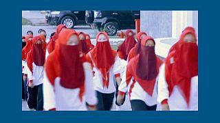 تصمیم دردسرساز مقام اندونزیایی؛ «زنان به جای ماسک از پوشیه استفاده کنند»