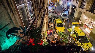 Tipikus éjszaka a Kazinczy utcában