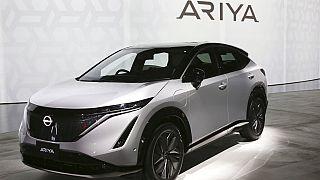 Japon otomobil devi Nissan yeni elektrikli SUV modeli Ariya'yı tanıttı