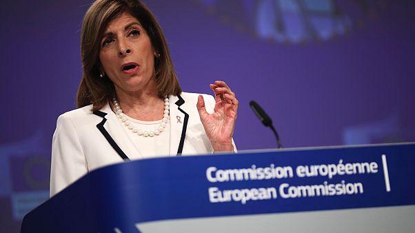Avrupa Komisyonu'nun sağlıktan sorumlu üyesi Stella Kyriakides