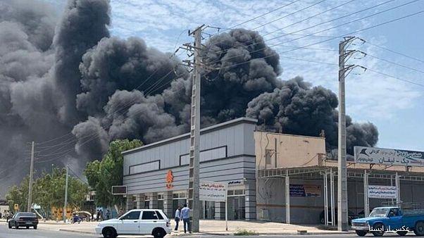 آتشسوزی در کارخانه لنجسازی بوشهر