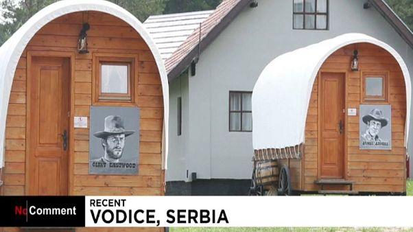 بازسازی غرب وحشی در پارک «ال پاسو سیتی» صربستان