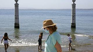 Am Strand in Portugal