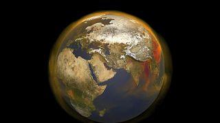 صورة ثلاثية الأبعاد  لوكالة ناسا تظهر ارتفاع غاز الميثان، ثاني أكبر مساهم في الاحتباس الحراري