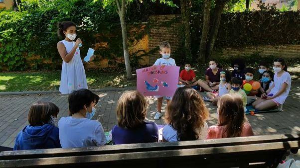 Ισπανία: Άνοιξαν οι κατασκηνώσεις - Ανήσυχοι οι γονείς