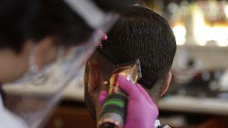محل تصفيف الشعر- صورة توضيحية