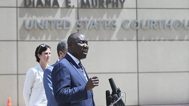 Floyd family Attorney Ben Crump announces a civil lawsuit against the city of Minneapolis and the officers involved.