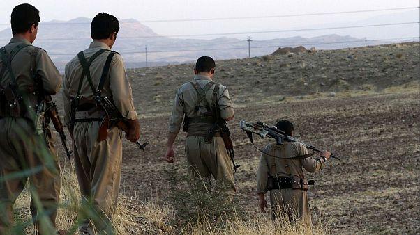 عکس آرشیوی از نیروهای یکی از احزاب کرد مخالف جمهوری اسلامی