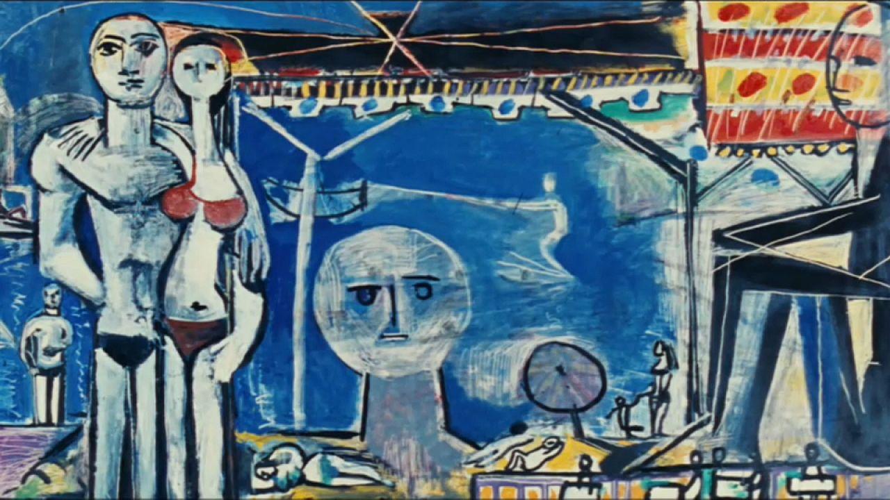 """La passione """"mare"""" di Pablo Picasso"""