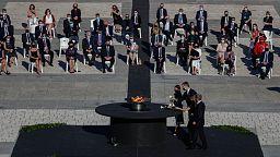 Espanha silencia-se pelas vítimas da Covid-19