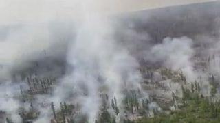 В России бушуют природные пожары
