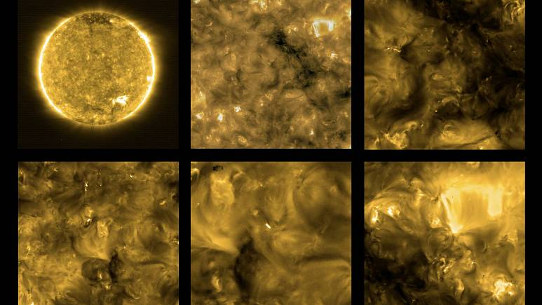 News Burst 4 July 2020 - Images Of The Sun Taken By Its Solar Orbiter