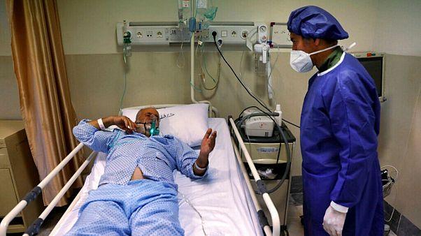 بیمار مبتلا به کرونا در ایران