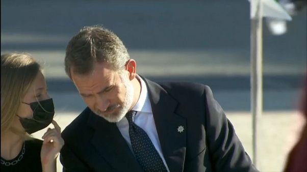 Maske auf! Leonor (14) mahnt ihren Vater, König Felipe von Spanien