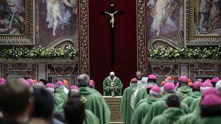 Messe à Rome lors du sommet des présidents de conférences épiscopales du 24 février 2019