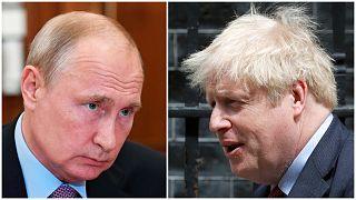 Vladimir Putin ve Boris Johnson / Arşiv