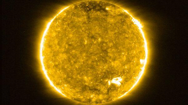 Νέες εντυπωσιακές εικόνες του ήλιου από το Solar Orbiter
