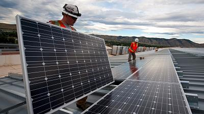 Investment in renewable energy is part of the WEF's blueprint.