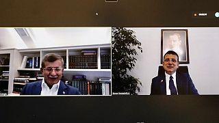 İBB Başkanı İmamoğlu, siyasi parti liderleri ile Kanal İstanbul projesini görüştü