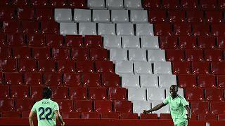 Ferland Mendy festeja golo do Real Madrid