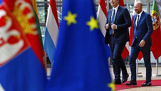 Erstmals nach 20 Monaten - Serbien-Kosovo-Gespräche in Brüssel