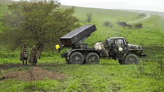 Azerbaycan sınırındaki Ermenistan askerleri, arşiv