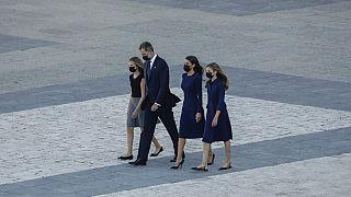 Trauerzeremonie für Corona-Opfer in Spanien