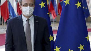 Премьер-министр Косова Авдулла Хоти в Брюсселе