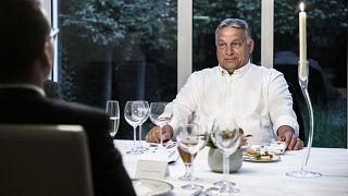 EU-csúcs Brüsszelben - Orbán Viktor munkavacsorán