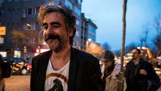 Archives : le journaliste germano-turc Deniz Yucel, à Istanbul le 16 février 2018