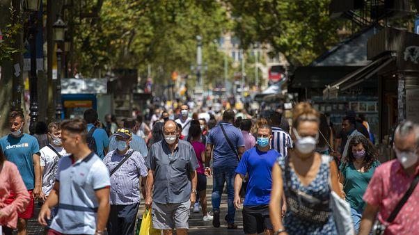 Barcelona en julio