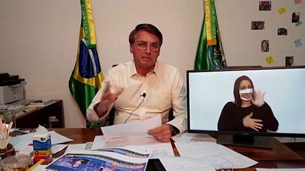 """Há uma """"seita ambiental"""" na Europa. Palavra de Jair Bolsonaro"""